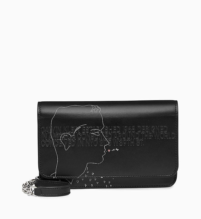 Calvin Klein - Andy Warhol Mini Leather Cross Body Bag - 1