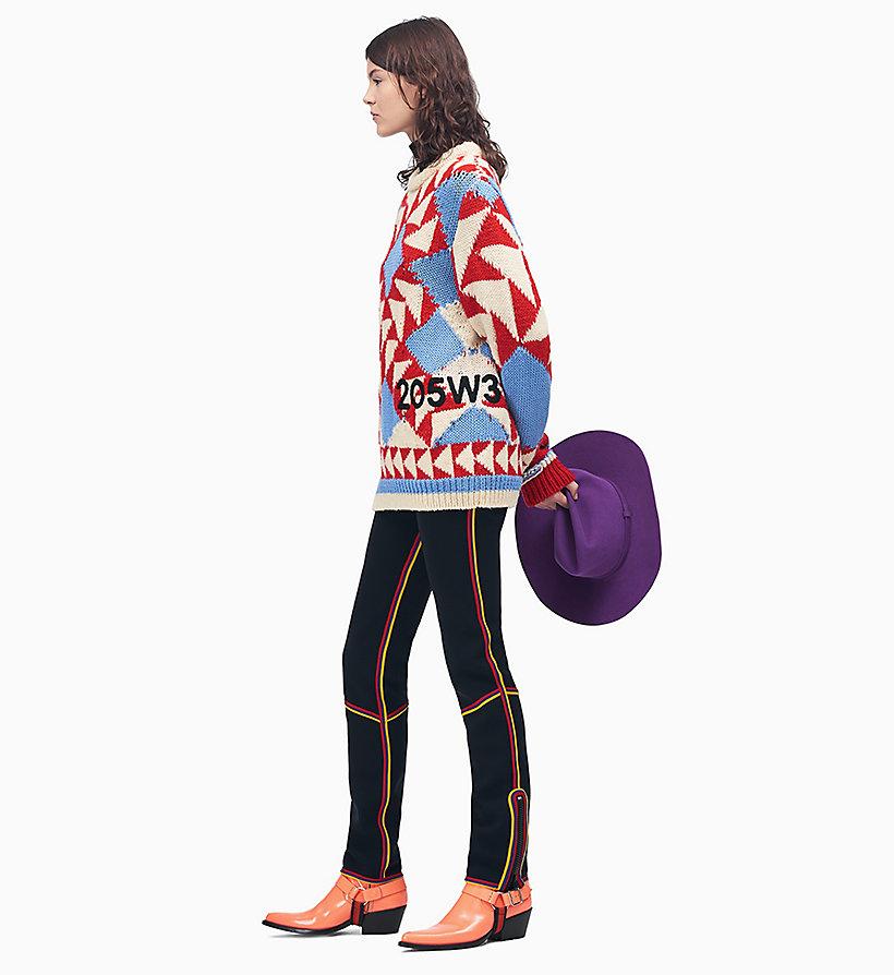 Calvin Klein - Pantalones con raya - 3