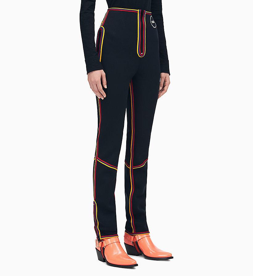 Calvin Klein - Pantalones con raya - 1