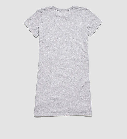 CALVINKLEIN Girls Nightdress - Modern Cotton - GRAY HEATHER PLACED LOGO - CALVIN KLEIN Up to 50% - detail image 1