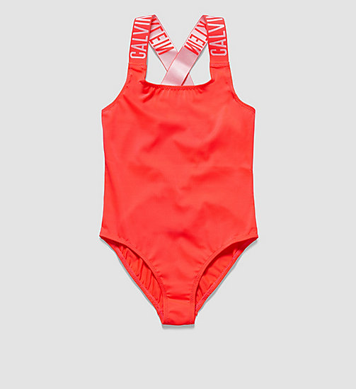 CALVINKLEIN Girls Swimsuit - Intense Power - DIVA PINK - CALVIN KLEIN  - main image