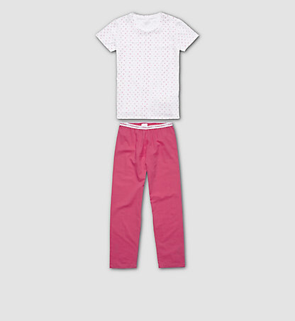 CALVIN KLEIN Girls PJ Set - Modern Cotton G80G800049105