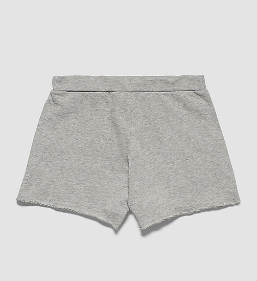 CALVINKLEIN Girls Beach Shorts - GRAY HEATHER - CALVIN KLEIN WOMEN - detail image 1
