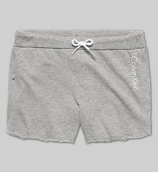 CALVINKLEIN Girls Beach Shorts - GRAY HEATHER - CALVIN KLEIN PYJAMAS - main image