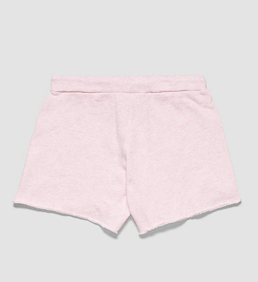 CALVINKLEIN Girls Beach Shorts - PINK HEATHER - CALVIN KLEIN  - detail image 1