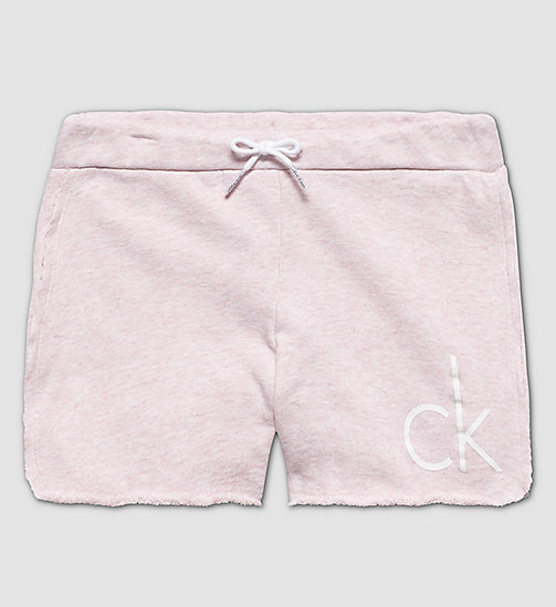 CALVINKLEIN Girls Beach Shorts - PINK HEATHER - CALVIN KLEIN  - main image