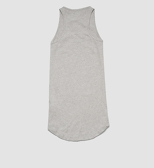 CALVINKLEIN Girls Beach Tank Dress - GRAY HEATHER - CALVIN KLEIN  - detail image 1