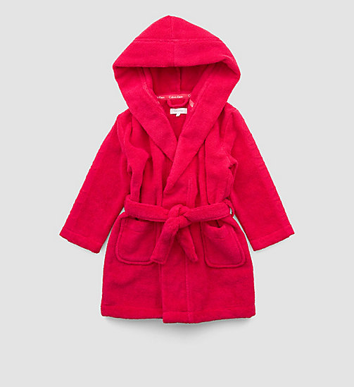 CALVINKLEIN Girls Bathrobe - Modern Cotton - AZALEA - CALVIN KLEIN Up to 50% - main image