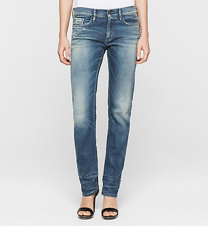 CALVIN KLEIN JEANS Mid Rise Straight Jeans J20J200076912