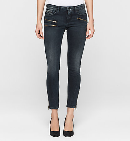 CALVIN KLEIN JEANS Mid-Rise Skinny Ankle-Jeans J20J200080913