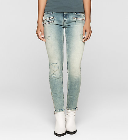 CALVIN KLEIN JEANS Mid-Rise Skinny Ankle-Jeans J20J200091913