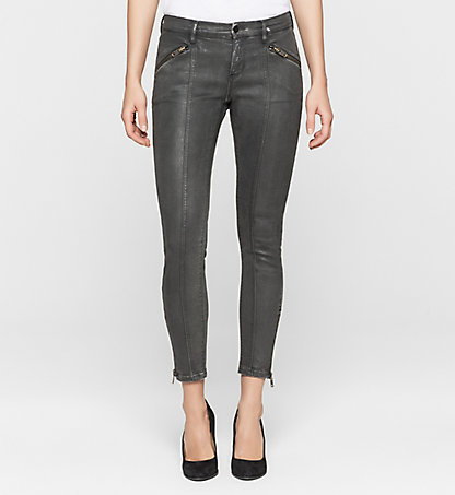 CALVIN KLEIN JEANS Mid-Rise Skinny Ankle-Jeans J20J200266914