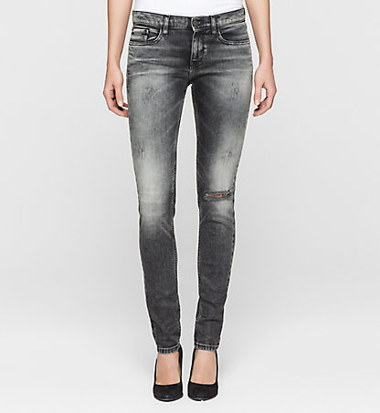 CALVIN KLEIN JEANS Mid-Rise Skinny-Jeans J20J200270918