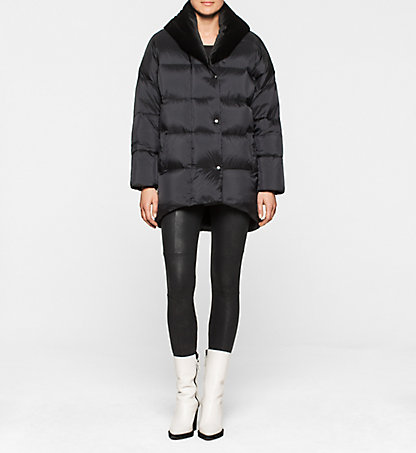 CALVIN KLEIN JEANS Padded Down Coat - Orchid J20J200335099