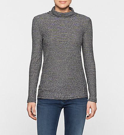 CALVIN KLEIN JEANS Longsleeve Roll Neck Top - Lally J20J200609118