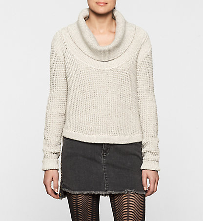 CALVIN KLEIN JEANS Roll Neck Sweater - Shar J20J200615492
