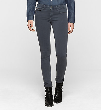 CALVIN KLEIN JEANS Mid Rise Skinny Trousers J20J200630493