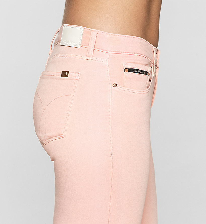 CKJEANS Mid Rise Skinny Trousers - MELLOW ROSE - CK JEANS CLOTHES - detail image 2