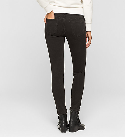 CKCOLLECTION Mid Rise Skinny Trousers - METEORITE - CK JEANS  - detail image 1