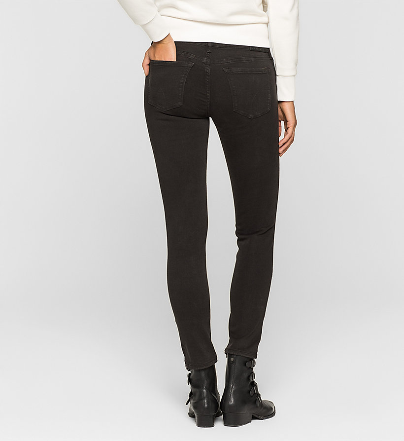 CKJEANS Mid Rise Skinny Trousers - METEORITE - CK JEANS CLOTHES - detail image 1