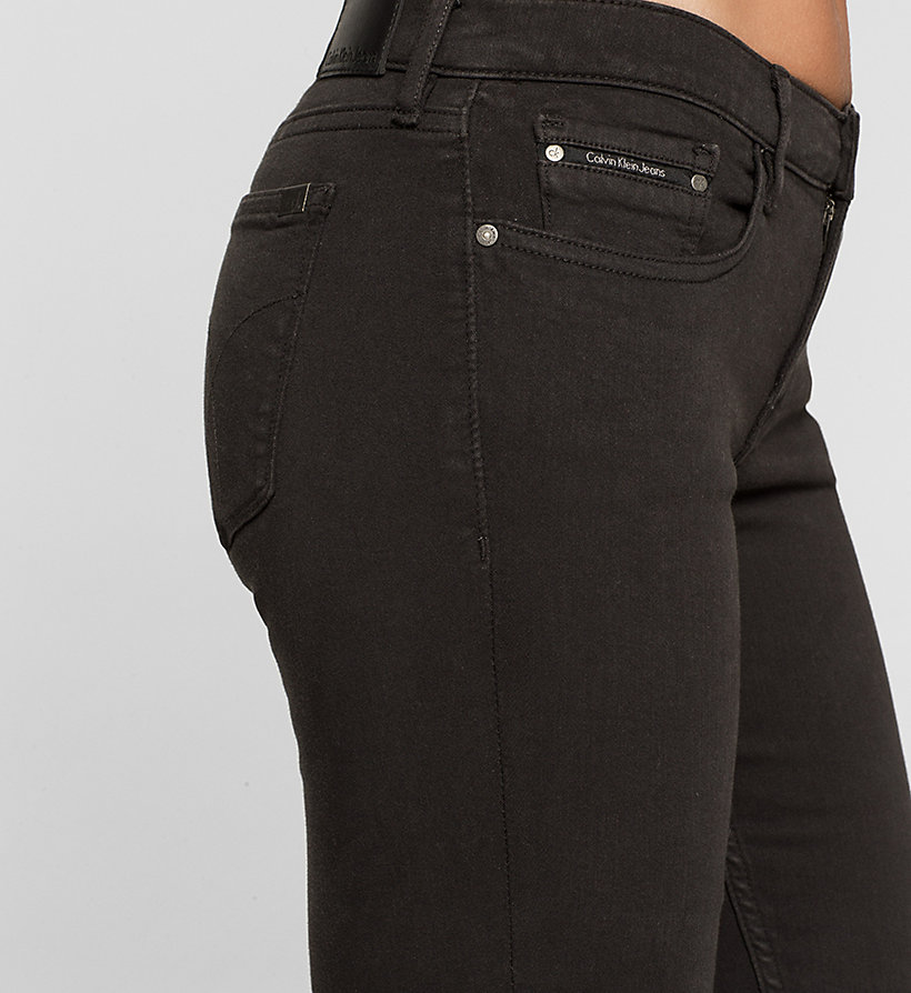 CKJEANS Mid Rise Skinny Trousers - METEORITE - CK JEANS CLOTHES - detail image 2