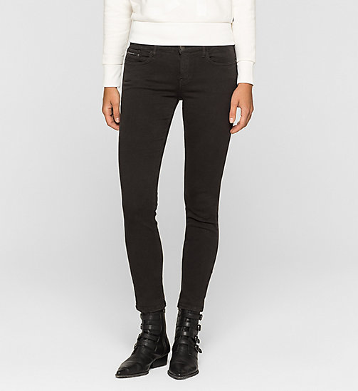CKJEANS Mid Rise Skinny Trousers - METEORITE - CK JEANS TROUSERS - main image