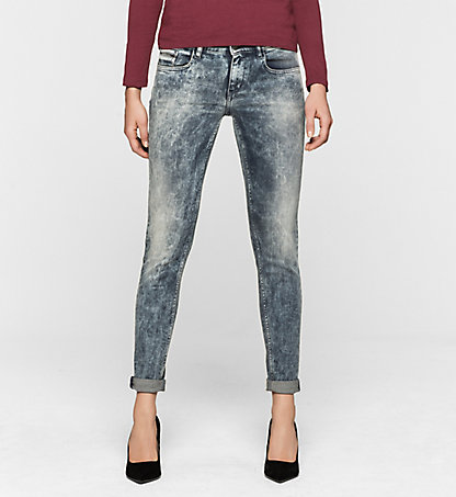 CALVIN KLEIN JEANS Mid-Rise Skinny-Jeans J20J200631916