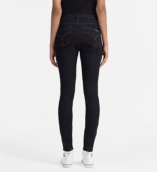 CKJEANS High Rise Sculpted Skinny Jeans - DARK RINSE - CK JEANS SKINNY JEANS - detail image 1