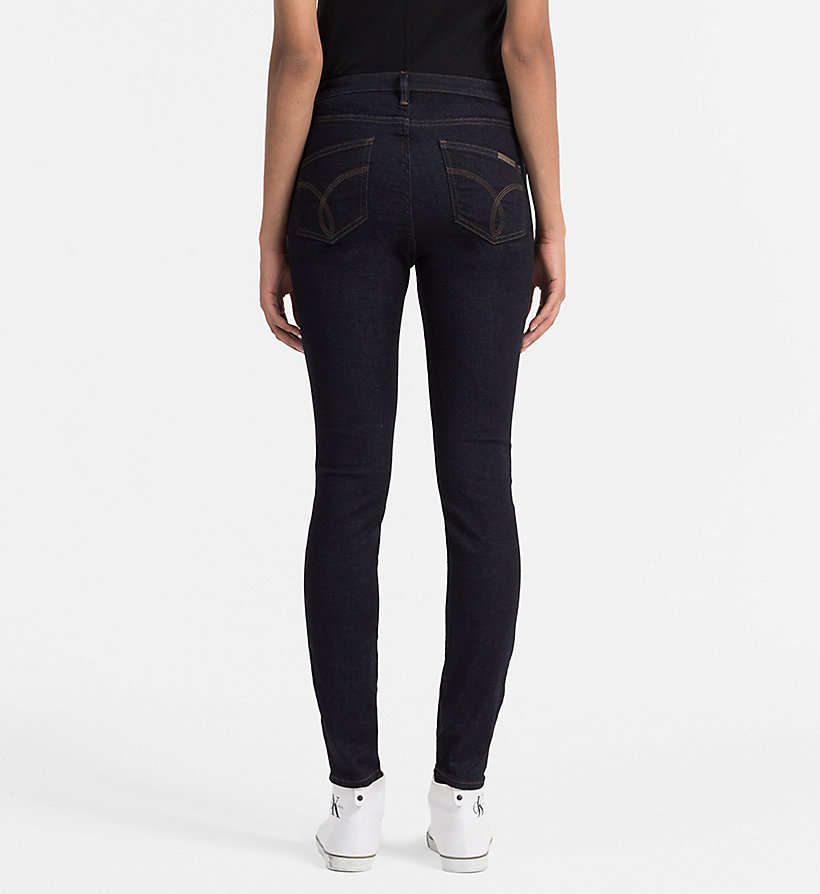 CALVIN KLEIN JEANS High Rise Sculpted Skinny Jeans - DARK RINSE - CALVIN KLEIN JEANS CLOTHES - detail image 1