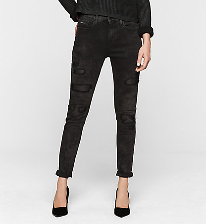 CALVIN KLEIN JEANS High-Rise Skinny-Jeans J20J200936912