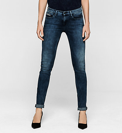 CALVIN KLEIN JEANS Mid-Rise Skinny-Jeans J20J200947916