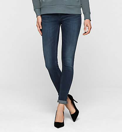 CALVIN KLEIN JEANS Mid-Rise Skinny-Jeans J20J200948911