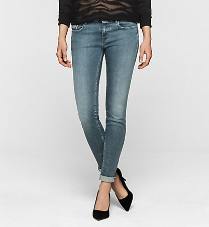 CALVIN KLEIN JEANS Mid Rise Skinny Jeans J20J200949912