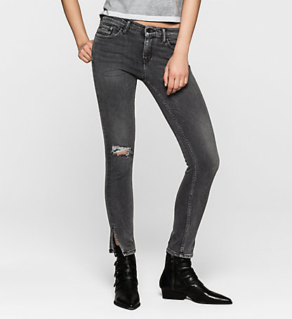 CALVIN KLEIN JEANS Mid-Rise Skinny Ankle-Jeans J20J200950920