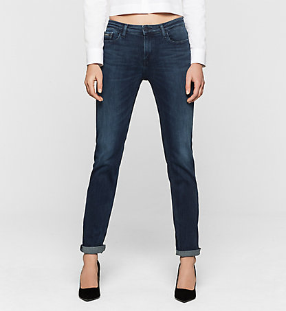 CALVIN KLEIN JEANS Mid Rise Straight Jeans J20J200956919