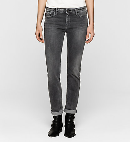 CALVIN KLEIN JEANS Mid Rise Straight Jeans J20J200958915