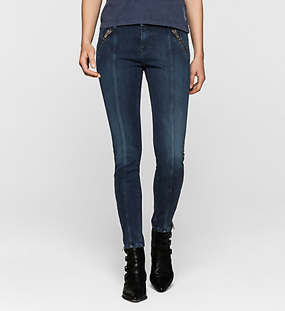 CALVIN KLEIN JEANS Mid-Rise Skinny Ankle-Jeans J20J200962916