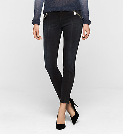 CALVIN KLEIN JEANS Mid-Rise Skinny Ankle-Jeans J20J200963912