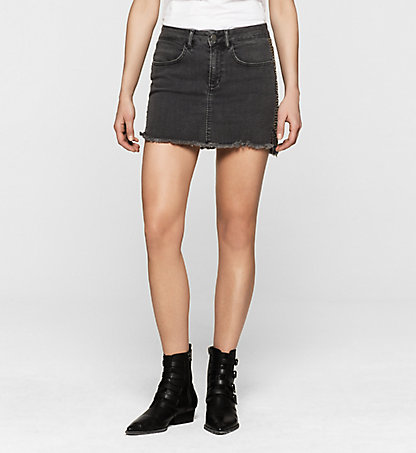 CALVIN KLEIN JEANS Studded Denim Skirt J20J200967917