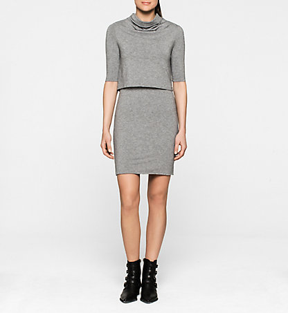 CALVIN KLEIN JEANS Knitted Dress - Dacia J20J200993038