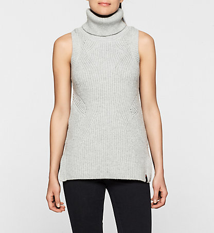 CALVIN KLEIN JEANS Roll Neck Tunic - Saelyn J20J201004038