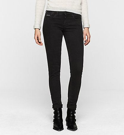 CALVIN KLEIN JEANS Mid-Rise Skinny-Jeans J20J201049919