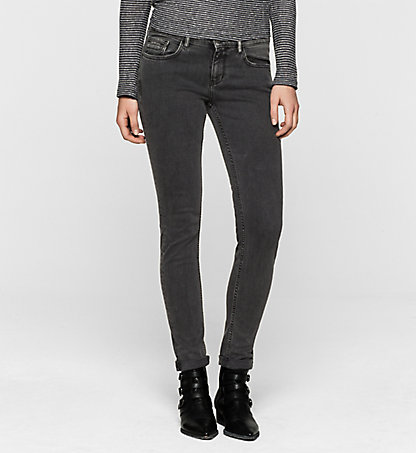 CALVIN KLEIN JEANS Mid-Rise Skinny-Jeans J20J201050917