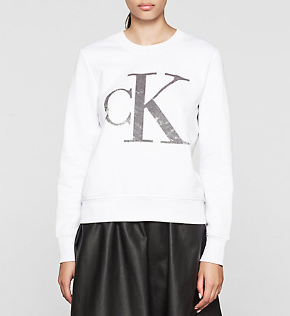 CALVIN KLEIN JEANS Sweat-shirt avec logo - Honor J20J201084112