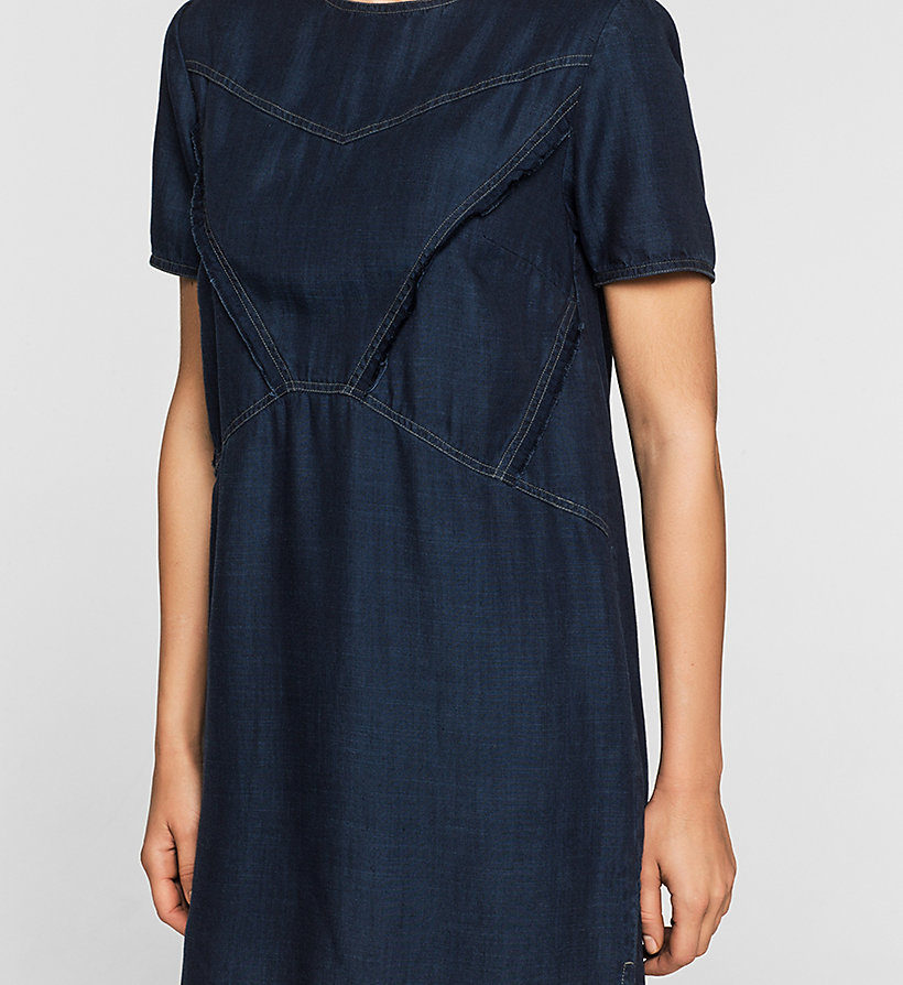 CKJEANS Denim Dress - DARK INDIGO - CK JEANS DRESSES - detail image 2