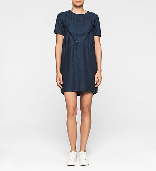 CKCOLLECTION Denim Dress - DARK INDIGO - CK JEANS  - main image