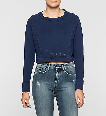 CALVIN KLEIN JEANS Sweat-shirt court - Hara J20J201305863