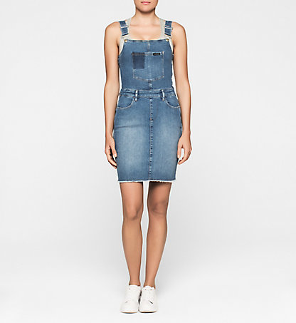 CALVIN KLEIN JEANS Dungaree Dress J20J201340911