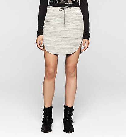 CALVIN KLEIN JEANS Cotton Blend Skirt - Fem J20J201359104