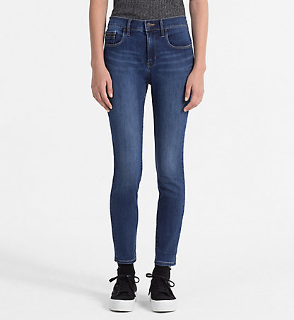 CALVIN KLEIN JEANS High-Rise Skinny-Jeans J20J201376916